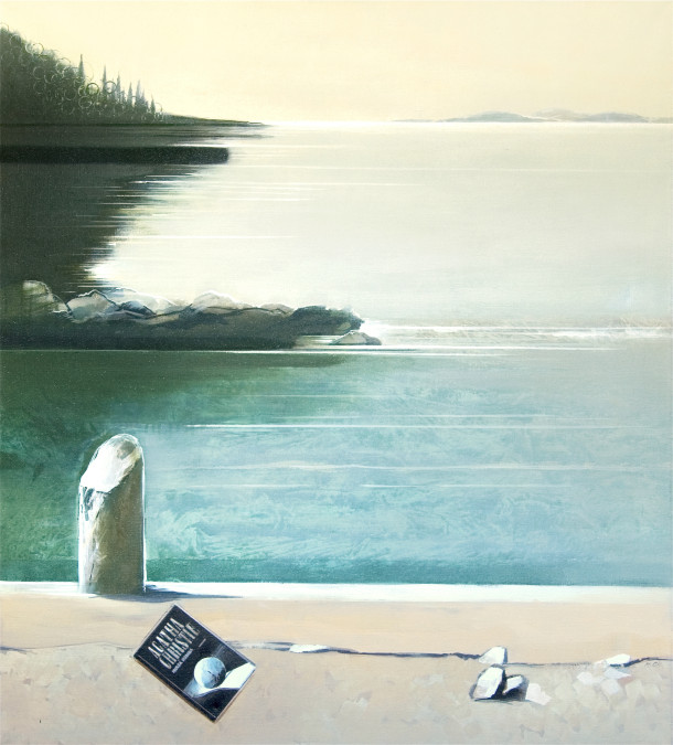 """By the sea"", 90x100cm, oil painting, 2010"